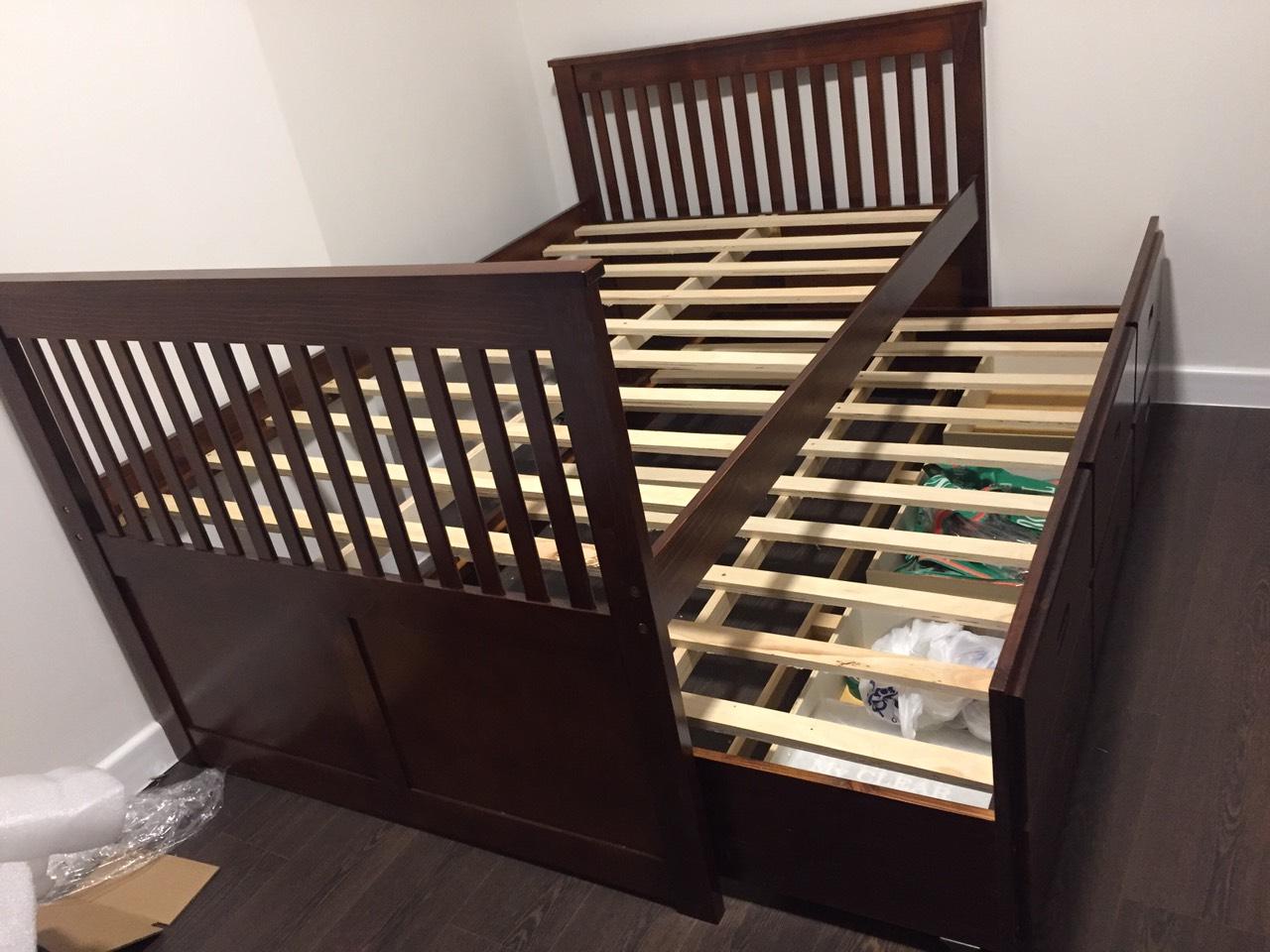 Giường ngủ gỗ sồi SP000089