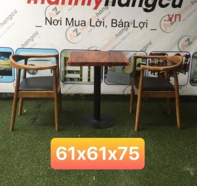Bàn ghế cafe cũ SP000341
