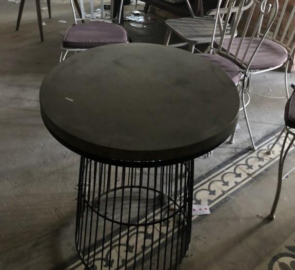 Bàn ghế sắt mỹ thuật SP000218