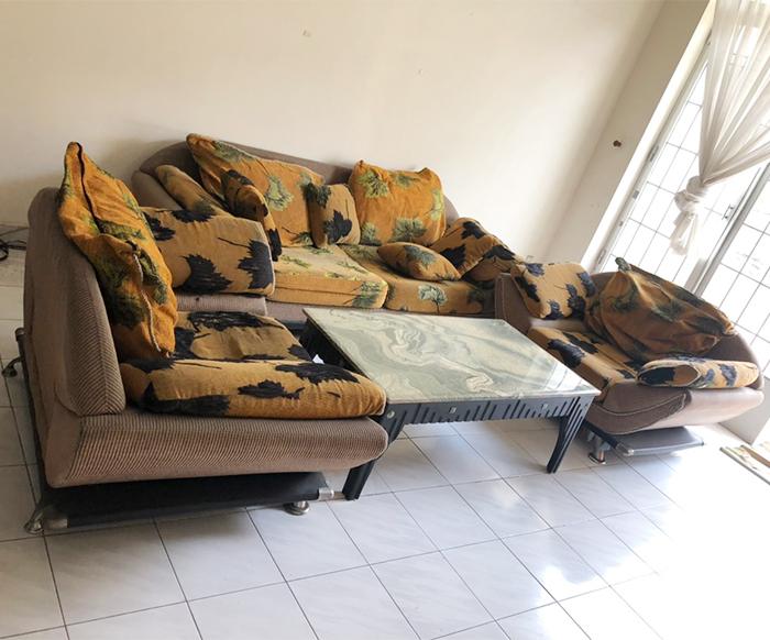Sofa mặt bàn đá 755