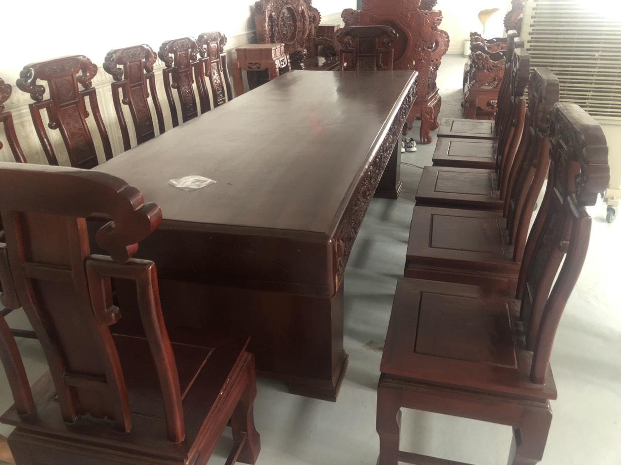 Bàn ghế gỗ sao xanh 924