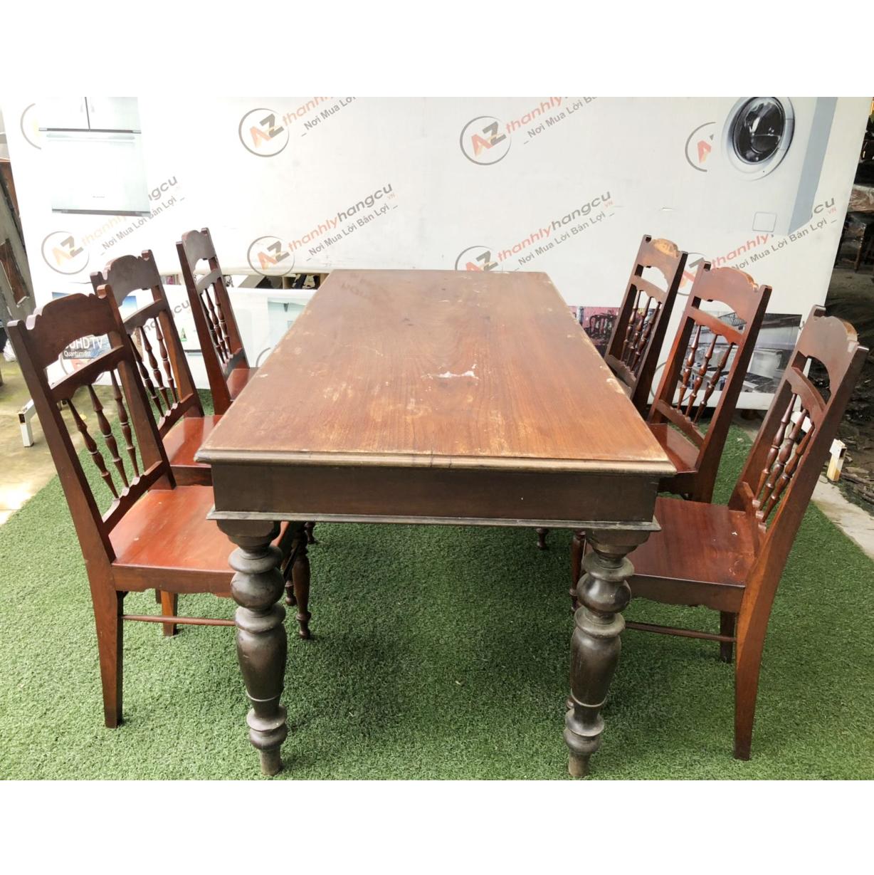 Bộ bàn ghế gia đình xưa 1041