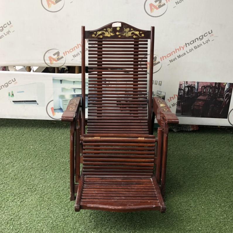 Ghế lười gỗ cẩm lai 1042