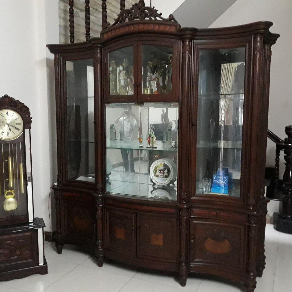 Tủ trưng bày gỗ cẩm lai SP000332