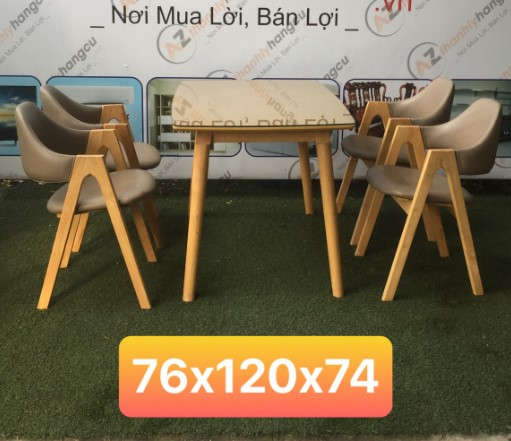 Bộ bàn ghế bọc nệm SP000449