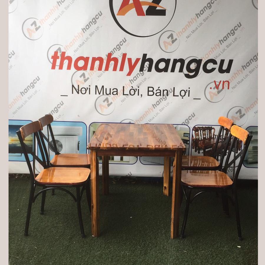 Bộ Bàn Ghế Ăn Thanh Lý SP000465
