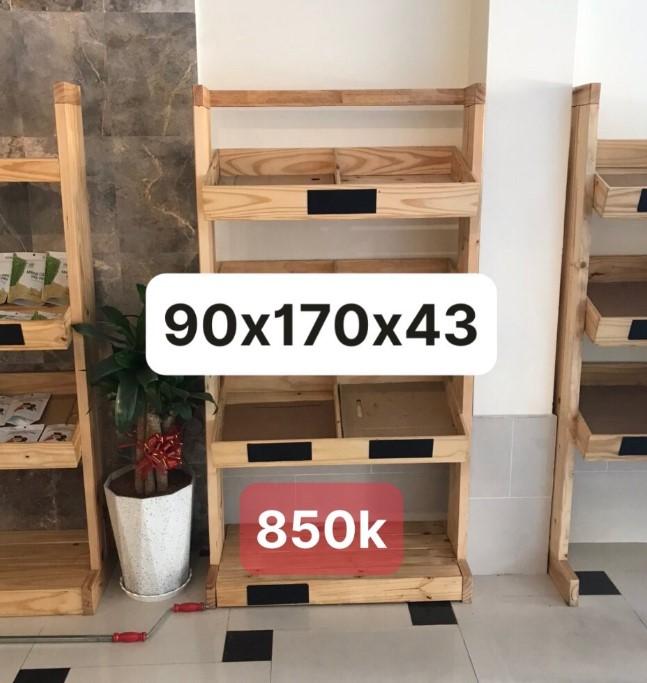Kệ Gỗ Thanh Lý SP000622