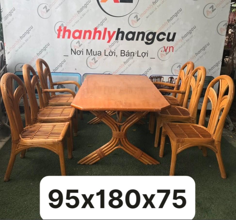 Bộ bàn ăn 6 ghế SP000638