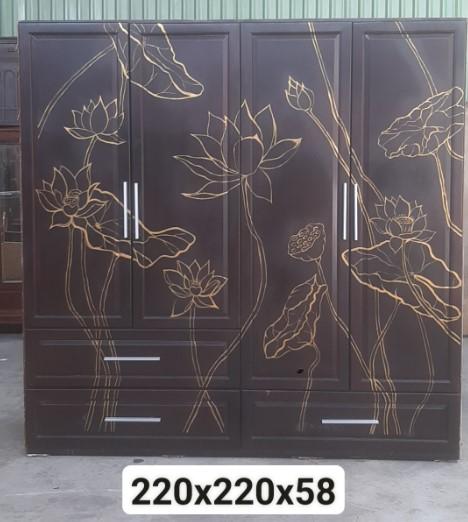 Tủ quần áo gỗ SP000800