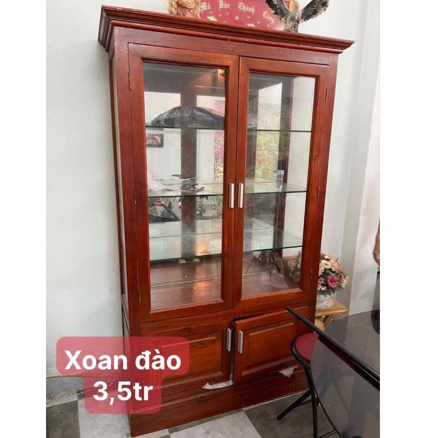 Tủ trưng bày gỗ xoan đào SP000876
