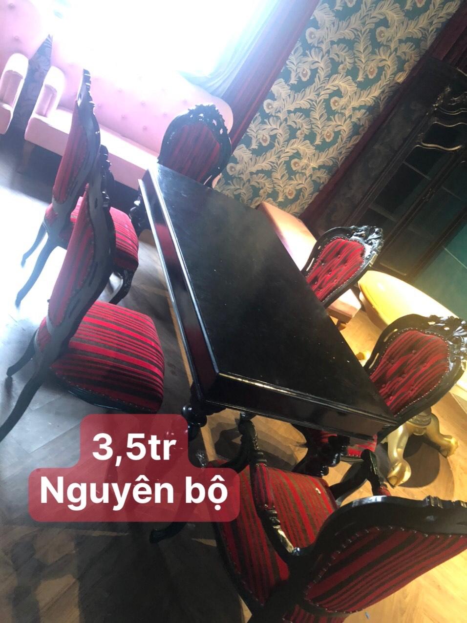 bộ bàn ăn SP000890