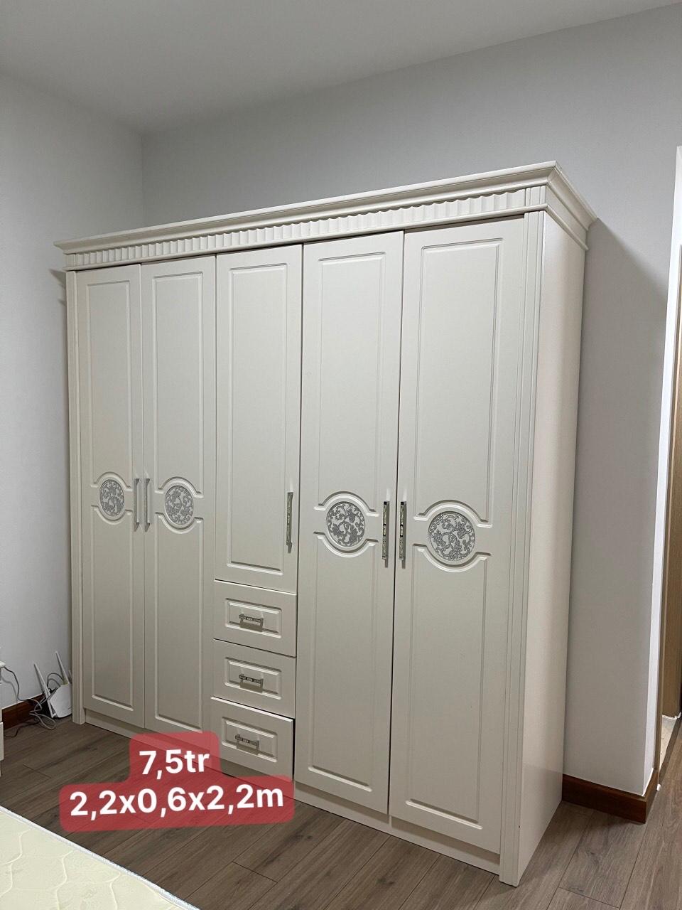 Tủ quần áo kiểu âu SP000933
