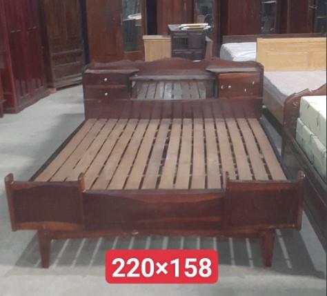 giường gỗ cẩm lai SP001001