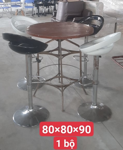 bộ bàn ghế quán bar SP001002
