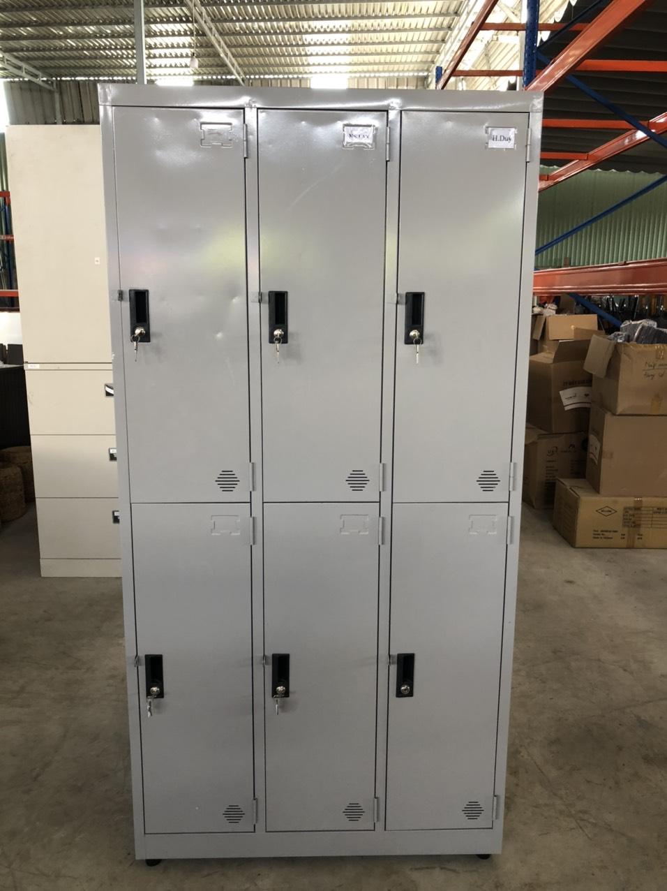 Thanh lý tủ sắt 6 ngăn SP001018