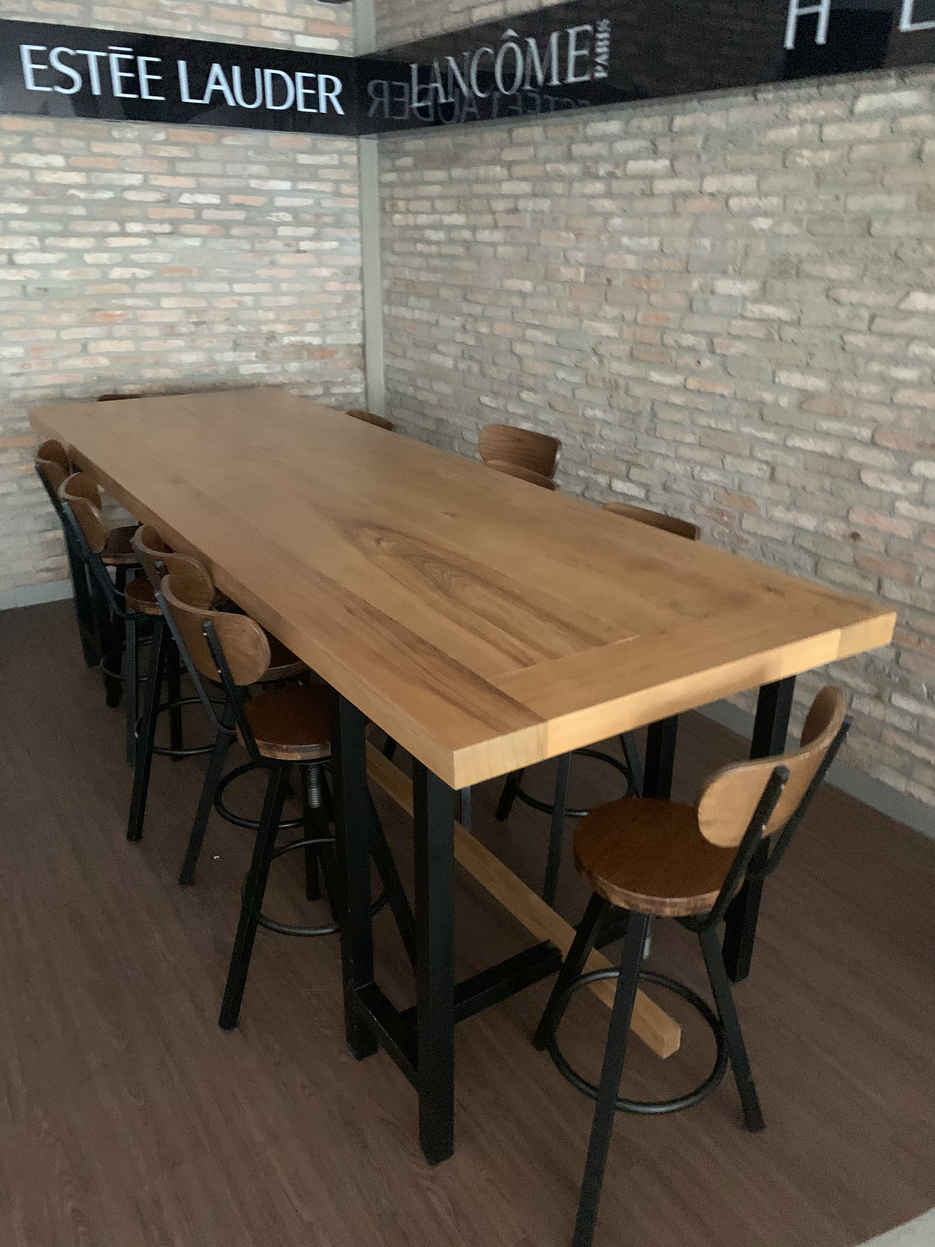 Bộ bàn ghế bar 1 bàn 10 ghế