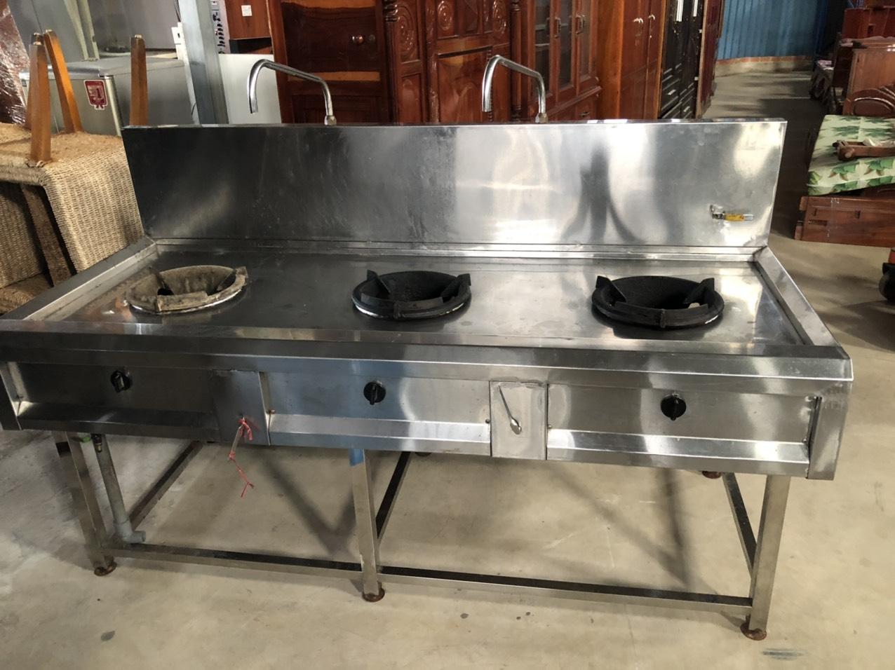 Thanh lý bếp á 3 họng giá rẻ SP001045
