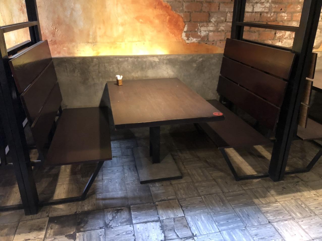 Bàn ghế nhà hàng, quán ăn SP001024