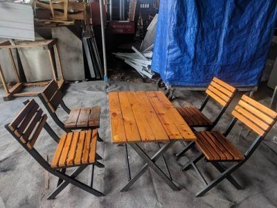 Bàn ghế xếp quán cafe, quán nhậu