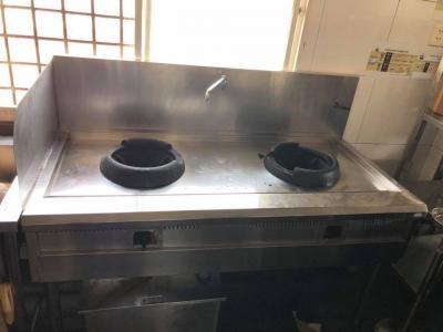 Bếp Á inox 2 họng 0116