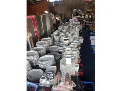 Chén tô đĩa cũ nhà hàng thanh lý số lượng lớn