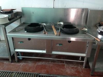 Bếp Á 2 họng nhà hàng cũ 0131