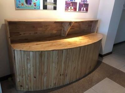 Quầy gỗ cafe thanh lý