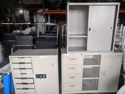 Tủ hồ sơ cũ Hòa Phát thanh lý