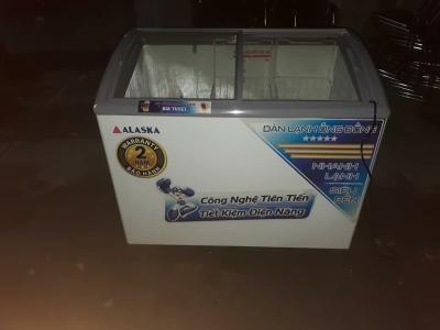 Tủ kem alaska kính phẳng tiết kiệm 40%