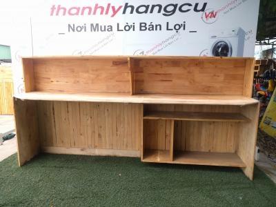 Quầy bar gỗ thanh lý giá rẻ