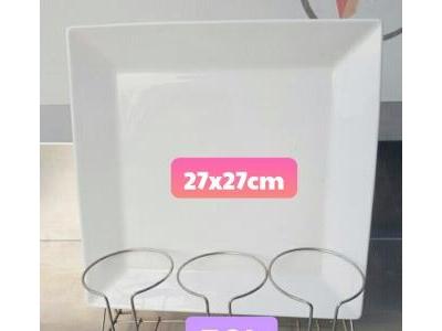 DĨA HÌNH VUÔNG  27cm