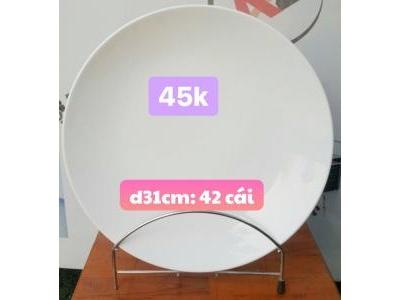 Dĩa tròn 31cm 681