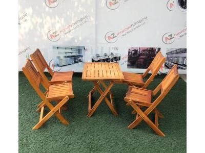 Thanh lý ghế gỗ xếp quán cafe 736