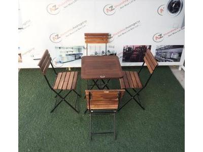 Bàn ghế cafe thanh lý 743
