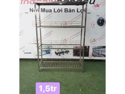 KỆ INOX 4 TẦNG ĐA NĂNG 841