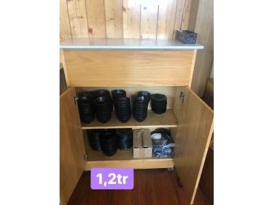 Thanh lý tủ bếp gỗ sồi 881
