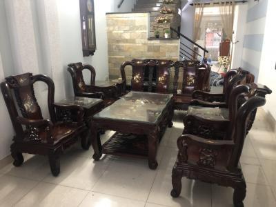 Bàn ghế gỗ cẩm lai 922