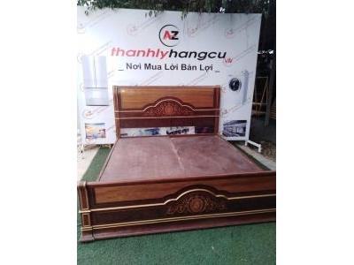 Giường ngủ gỗ sồi Nga cao cấp nhập khẩu