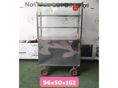 Tủ inox bán hàng ăn 1058
