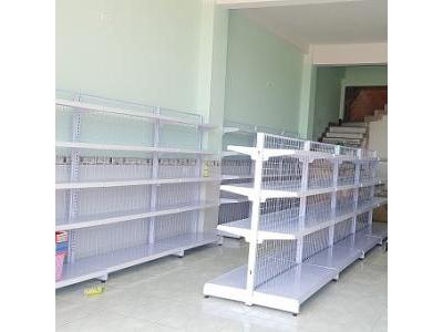 Kệ siêu thị đôi 1.2x1.5m loại lưới 1119