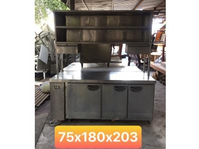 Tủ mát 3 cánh Fukushima có kệ bếp SP000058