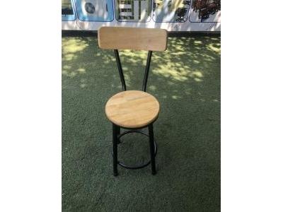 Ghế cafe gỗ chân sắt