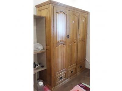 Tủ quần áo gỗ sồi mỹ SP000117