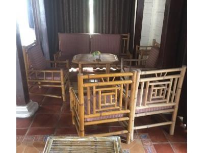Bàn ghế tre cao cấp SP000222