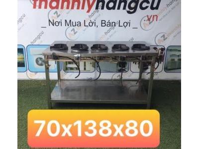 bếp công nghiệp 5 họng SP000270