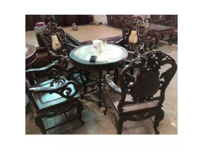 Bộ bàn ghế gỗ gụ SP000343