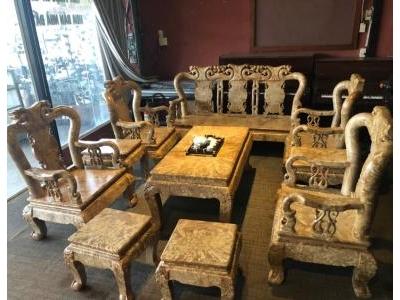 Bô bàn ghế nu nghiến SP000381