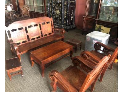 Bộ bàn ghế tay cuộn SP000392