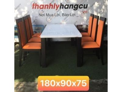 Bộ bàn ăn 6 ghế SP000486