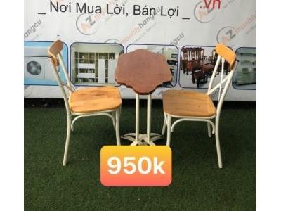 Bộ bàn ghế cafe SP000527